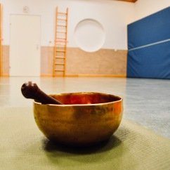 Yogaraum mit Gong :-)