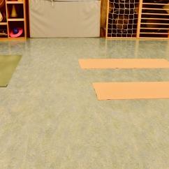 Yogaraum im KiGa mit Platz für bis zu 15 Personen